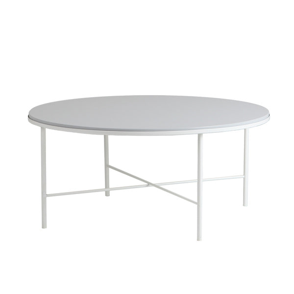 Basic Round Sofa Table White 상판포함 (Black/Gray/Yellow)