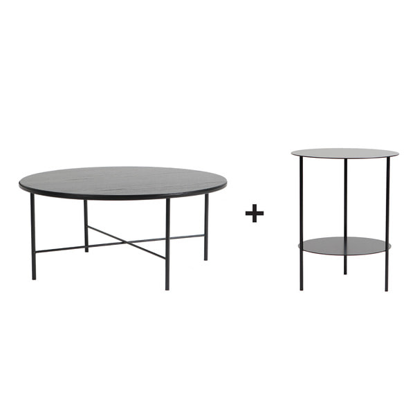 Basic Round Table Set (2pcs)