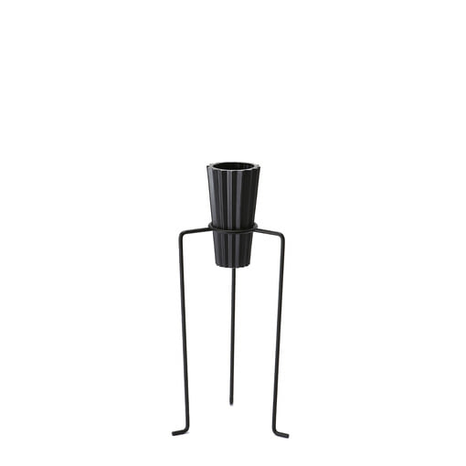 Pot Stand Black Small (set)