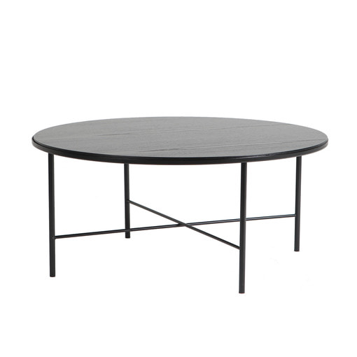Basic Round Sofa Table Black 상판포함 (Black/Gray/Yellow)