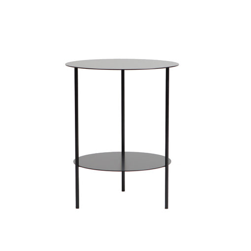 Basic Round Side Table (Black)